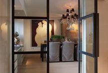 Drzwi metalowe loftowe