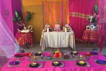 Sarah's 21st Arabian Nights Party / Arabian themed party designed by Nikki O