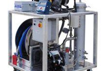 DEF Skids & DEF Carts / Equipment used in the transfer of Diesel Exhaust Fluid.
