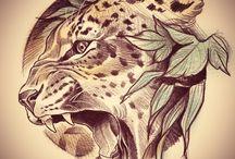 TATUAGENS | animais, etc