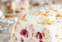 Frambozen mascarpone dessert
