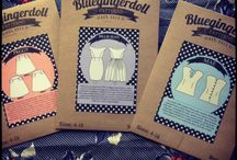 BLUEGINGERDOLL INDIE SEWING PATTERN CO. / Based in Melbourne, Australia Bluegingerdoll designs and creates vintage inspired sewing patterns for the modern day woman.