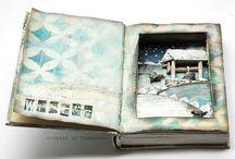 5 - Ramka ze starej książki