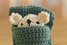 crochet, knitting, all handmade..I love! <3