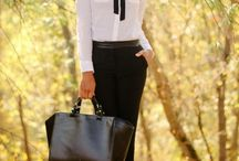 Inspiración de Outfit Work