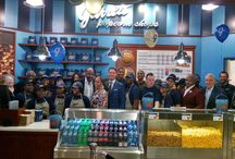 Lenox Square Mall Grand Opening Celebration #GarrettATL / We've POPPED up at our first-ever Georgia location in Lenox Square Mall! #GarrettATL / by Garrett Popcorn Shops