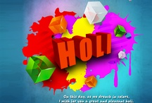 Holi Wallpapers / Download colorful Holi Wallpapers and decorate your laptop and mobile screens to welcome this amazing festival!