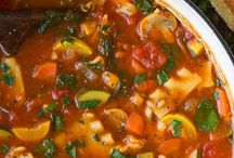 Super Soups and Stews / Because sometimes a bowl of good soup is just what you need