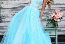 vestido a de xv