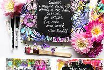 Alisa Burke Mixed Media Art