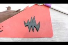 Tutos d'Halloween - Halloween tutorials / Tutos d'Halloween - Halloween tutorials