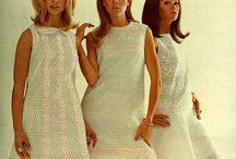 roupas ano 60