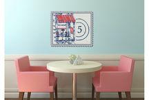 Stickers muraux / Personnalisez vos murs facilement avec les stickers muraux !