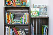 Creative Shelves --  I Like My Stuff and Need Somewhere to Put It / Creative ideas for shelving
