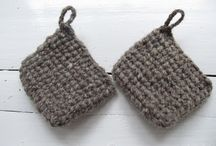 Crochet and knitting / *