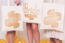 Bridesmaid Survival Kit / Give your bridesmaid their own quirky and useful surveil kit to help them through your big day!