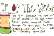 Work It Out... / Exercise, Health and Motivation. Lordy I need the Motivation...