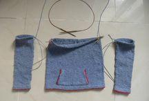 °•o•° TRICOT CIRCULAIRE °•o•° / Tricoter avec des aiguilles circulaires