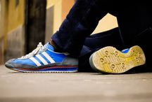 Sneakers: adidas SL / The SL 72 is a comfortable off-the-field shoe, debuting with the iconic Trefoil logo. It was naturally a hit, with runners laced the SL 72 up for the podium. In this way, it was ahead of its time. SL = Super Light.  adidas introduced the SL Loop Runner in 2014; which harkens back to retro models (think SL 72) thanks to a T-toe construction.