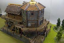 40k modelling inspiration terrain buildings
