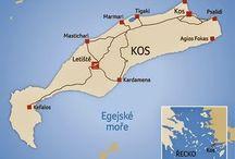 Řecko ostrov Kós