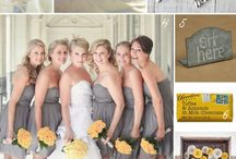 Yellow + Grey! / Wedding inspiration in Yellow + Grey!