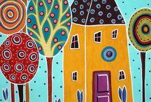 Házak, rajzok