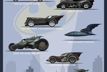 Batman's vehicles