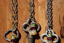 jewellery with keys / by curleytop1