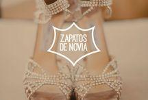 Los zapatos de novia / Los zapatos de novia forman parte del look de la boda. Te presento ideas, consejos y tendencias.