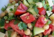 Bean tomato salad / Salad recipe