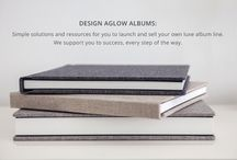 Photography Albums & Books / Luxurious and affordable photo albums and coffee table books for professional wedding and portrait photographers. / by Design Aglow