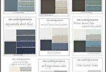 Farby a  kombinácie