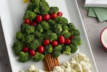 BROCOLI CHRISTMAS TREE
