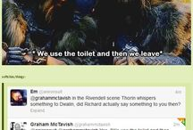 LOTR & Hobbit / Lotr and hobbit fandom related things Cx xD