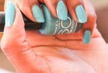 Rimmel 60s Strictly Come Dancing / Blue candy nail for summer
