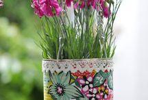 Blumentöpfe gestalten