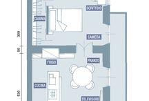 house: pianta rettangolare casa