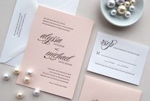 We are lusting over - Invitations & Cards / Selection of the amazing and beautiful cards and invitations
