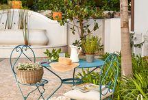 decoración jardin