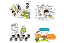 Book illustration / 미니민 책 삽화 MinyMin Book illustration