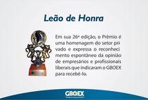 Prêmios GBOEX / Ao longo da nossa trajetória nossa empresa recebeu premiações devido ao seu desempenho e postura comercial.