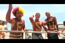 "Spear-It! / FSU Football highlights. Show your FSU ""Spear-It"" by re-pinning your favorites! / by Garnet&Gold Store"