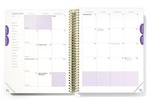 The 2017  Desire Map Weekly Planner / The WEEKLY planner is for the big dreamers, Creatives, and entrepreneurs — the planner-types who want a bird's eye view of their week. This day planner, based on the bestseller The Desire Map by Danielle LaPorte, is more than a weekly organizer.   This agenda incorporates your soul and your to-do list; your gratitude and your goals; your deepest desires with your day-to-day.  AVAILABLE NOW FOR 2017.