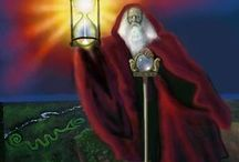 Tarot Circle - 9 The Hermit / The Teacher, mentor or guide