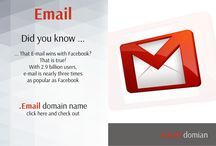 .EMAIL domain names / Now you can buy your own .EMAIL domain name and create email account with address you want.