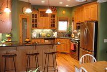 Kitchen paint color / by Sarah LaDuke