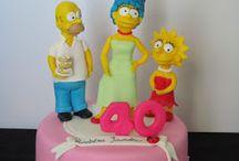 Bolos Os Simpson