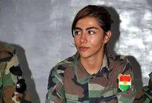 YPJ / La capacità di parlare all'Europa delle brigate combattenti kurde. Non solo Isis su FB.