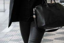 Fashion - total black